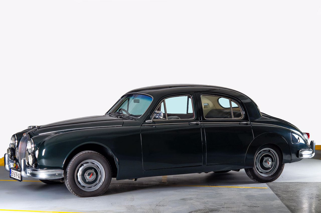 Old Jaguar Mark 1 Saloon